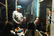 Patroli Polsek Kuala Behe, Himbau Prokes Covid-19 kepada Warga