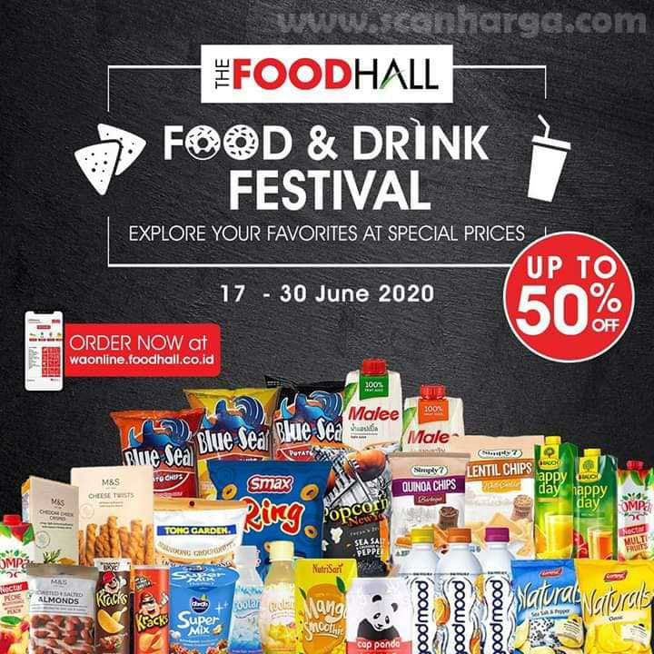 Promo Foodhall Food & Drink Festival Periode 17 - 30 Juni 2020