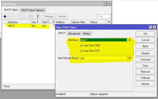 Setting DHCP Server On Mikrotik