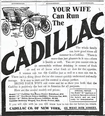 Your Wife Can Run the Cadillac