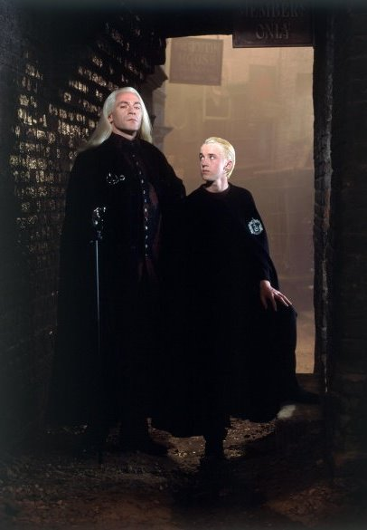 Potter Malfoy Lucius And Snape Harry