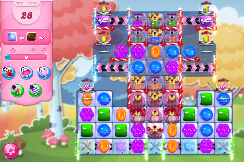 Candy Crush Saga level 5713