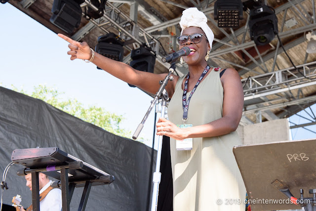 Valérie Ékoumé at Hillside Festival on Sunday, July 14, 2019 Photo by John Ordean at One In Ten Words oneintenwords.com toronto indie alternative live music blog concert photography pictures photos nikon d750 camera yyz photographer