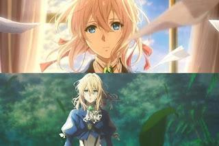 Anime Ditunda Violet Evergarden