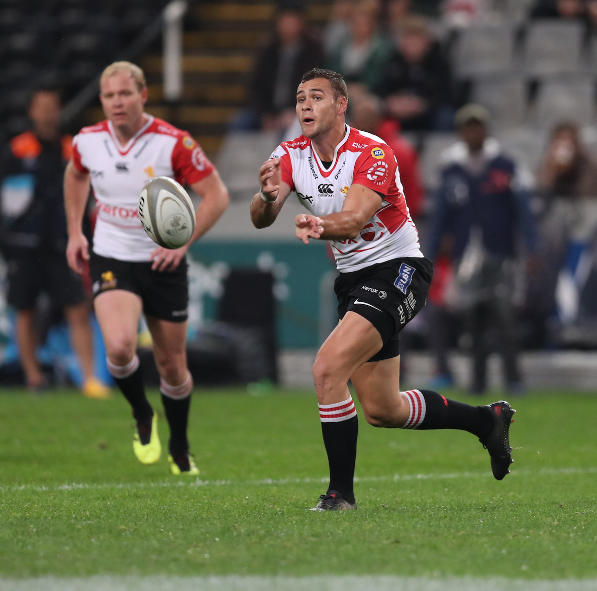 Shaun Reynolds of the Xerox Golden Lions during the Currie Cup