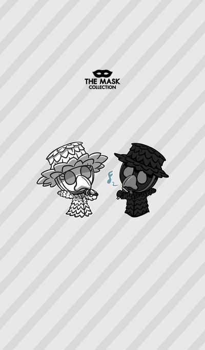 The Mask Collection - The Crow siblings