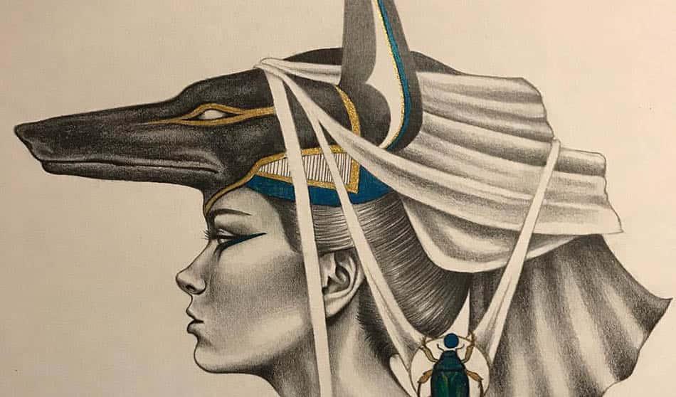 mitoloji, mısır mitolojisi, Anput,Input, Mısır Tanrıçaları, Antik Mısır,Dişi Anubis,Çakal baş,Çakal başlı Tanrıça, N.Kara,