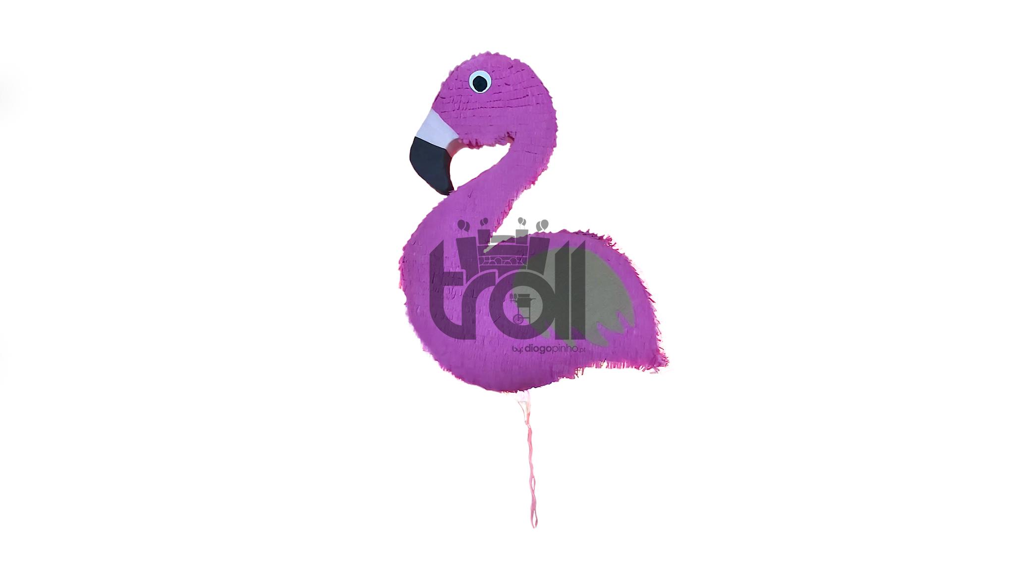 Pinhata Flamingo | Troll - Soluções para eventos