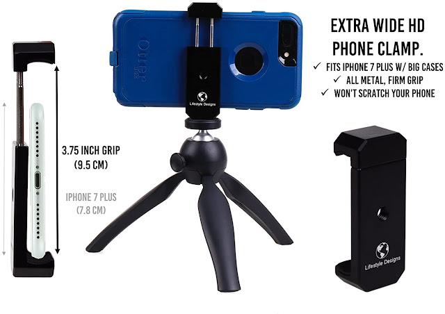 Premium HD Rugged 4-in-1 Selfie Stick Tripod Stand