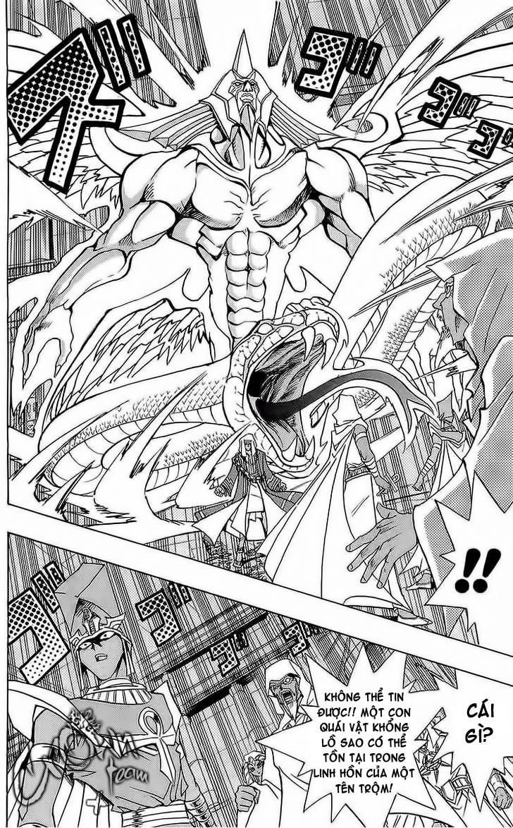 YUGI-OH! chap 285 - bakura, vua trộm trang 15