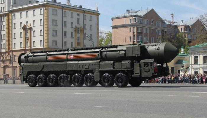 Rudal Balistik Yars Rusia
