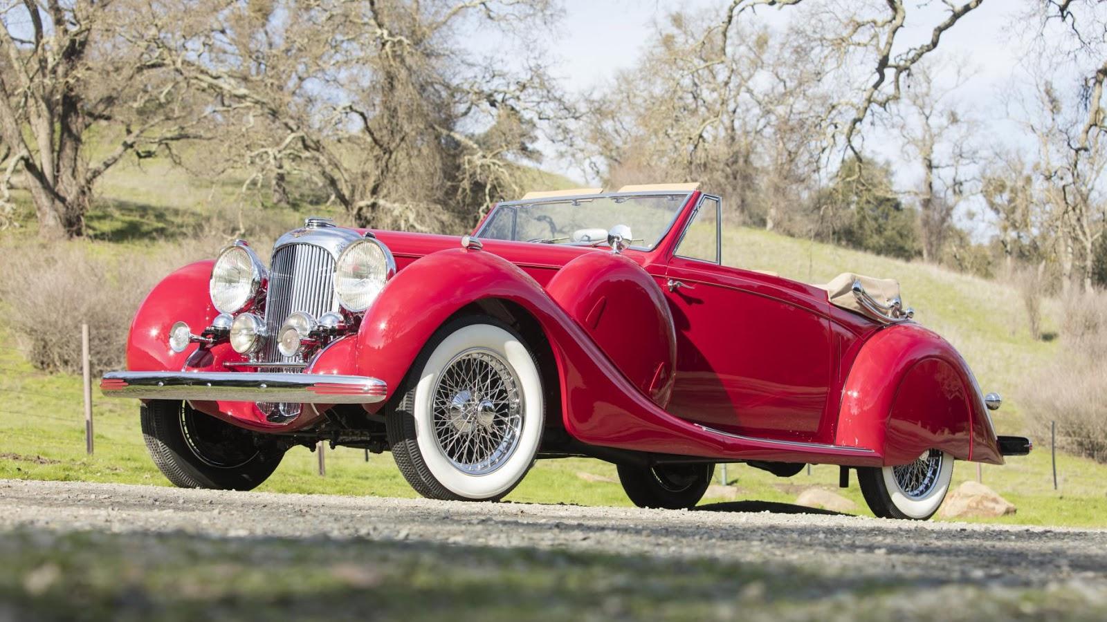 1939 Lagonda V12 Drophead Coupe: $458,700