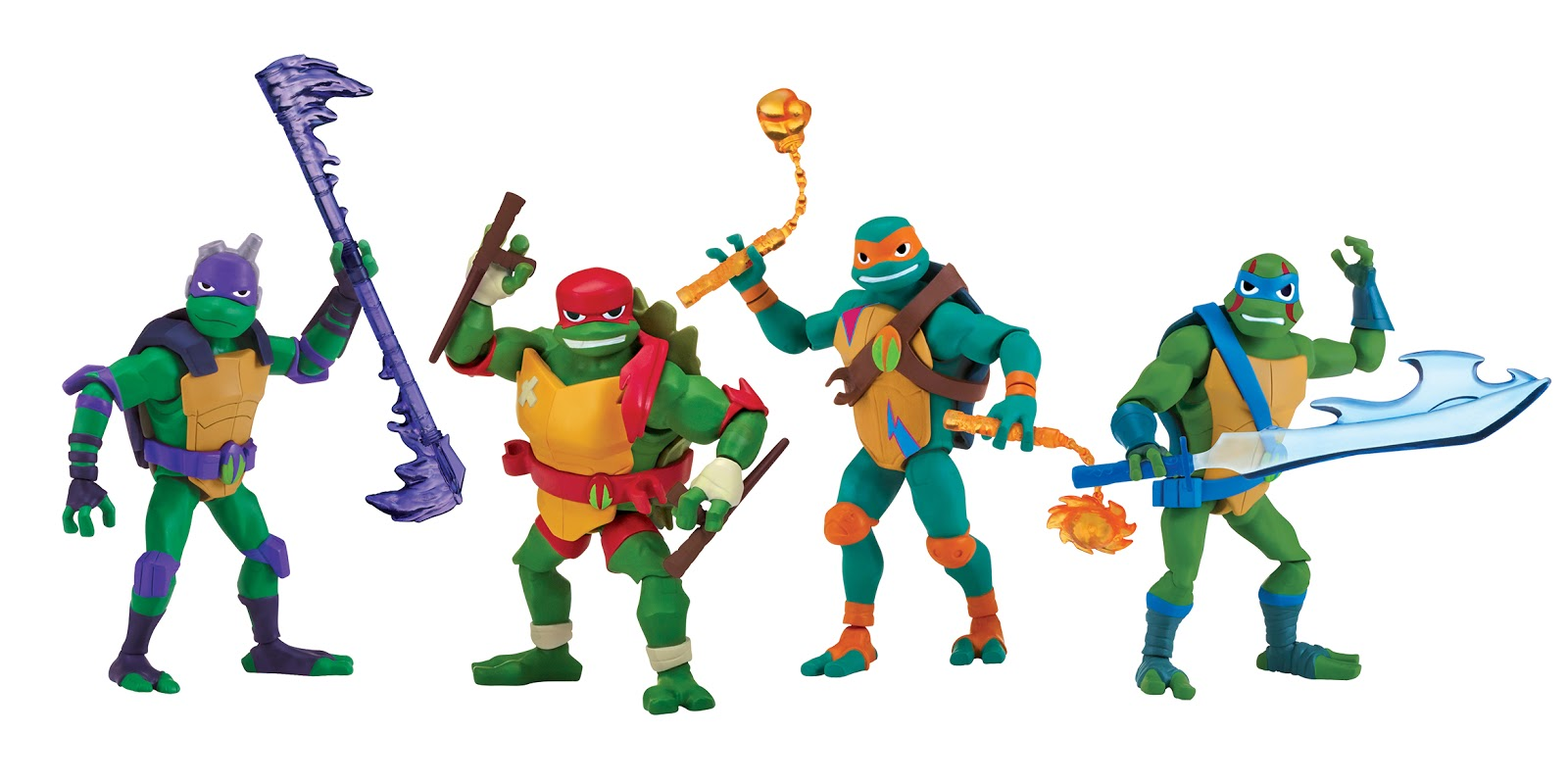 The Ninja Turtles Next Mutation Toys : Nickalive playmates toys to showcase new rise of the