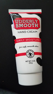 2 oz tube of Udderly Smooth hand cream