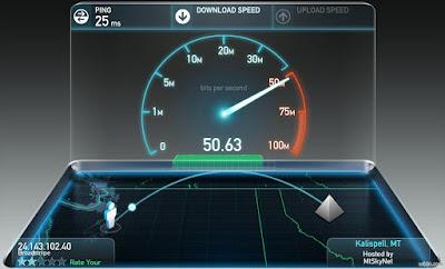 الامارات تحصل على المرتبة الاولى بسرعة 12 ميقابايت في الثانية بسرعة الإنترنت