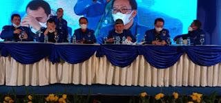 Jhoni Allen Marbun Pimpinan Sidang KLB Demokrat, Moeldoko Terpilih Sebagai Ketua Umum