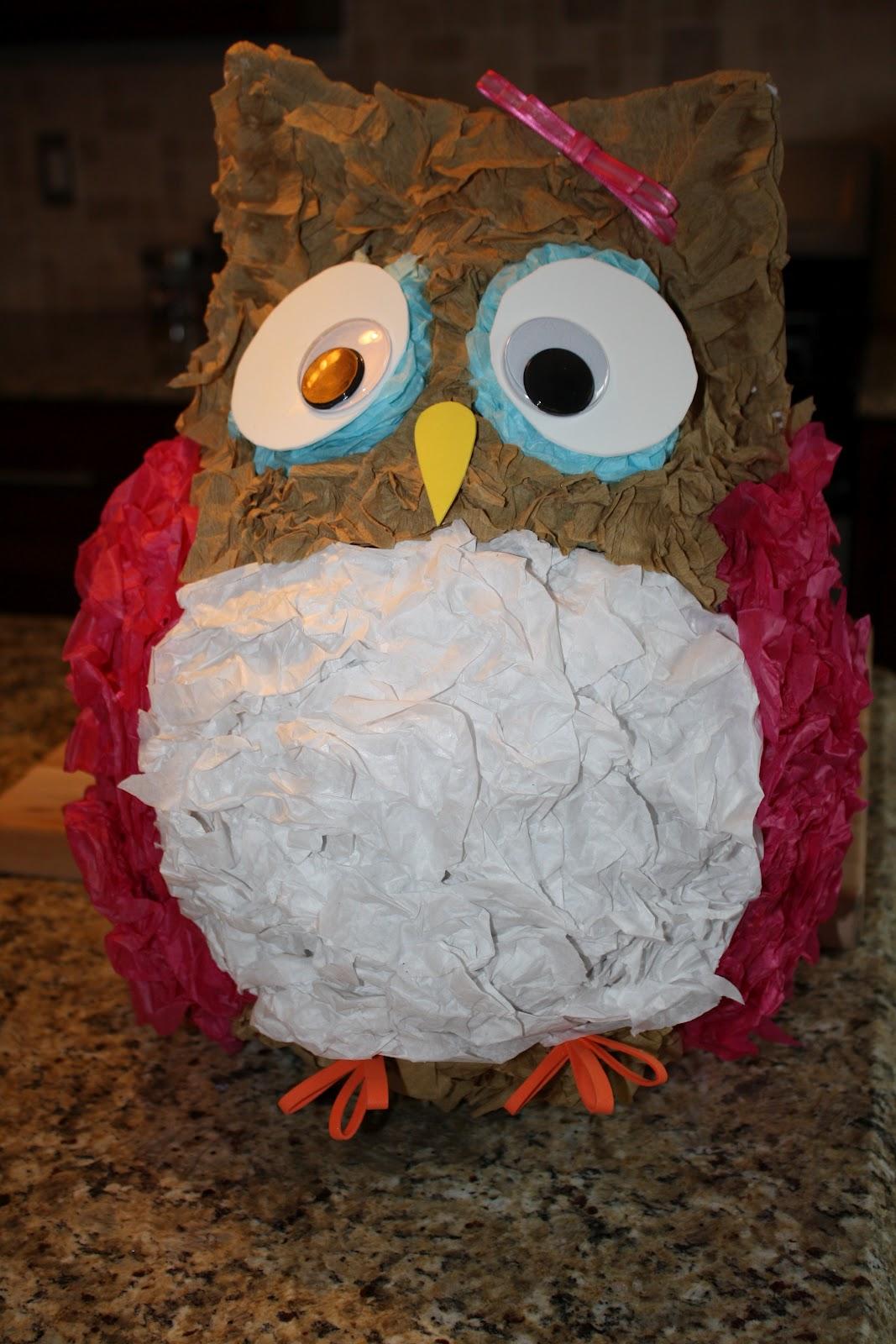 The Prodigy Mommas Owl Pinata Tutorial