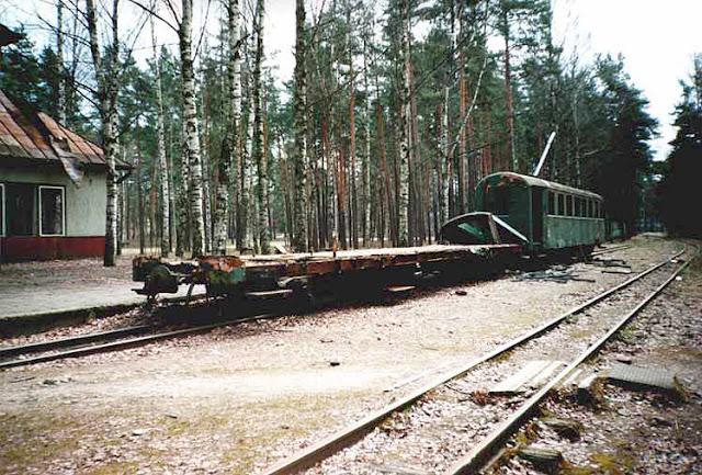 рижская детская железная дорога разруха