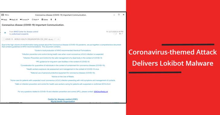 Coronavirus-themed