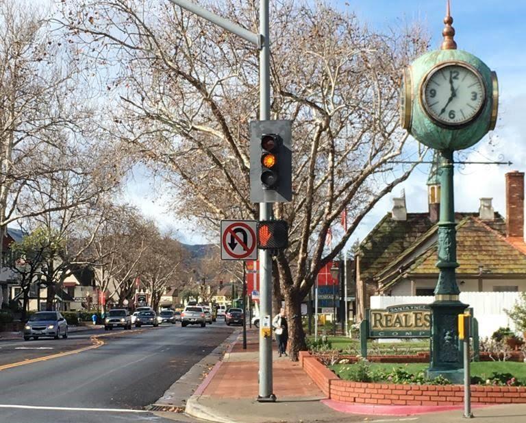 ruas de Solvang