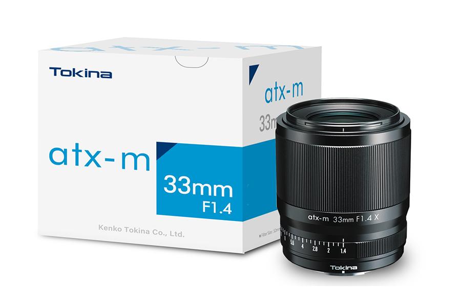 Объектив Tokina atx-m 33mm f/1.4 X с упаковкой