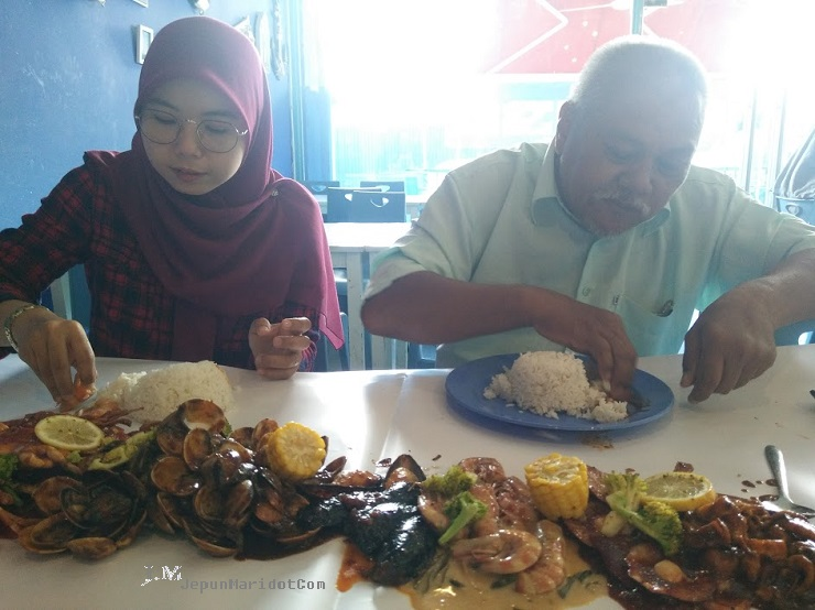 Let's Seafood Shell Out kat Puncak Alam