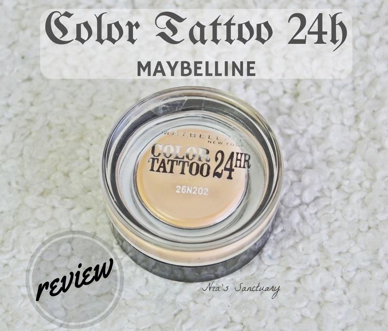 Color tattoo maybelline el santuario de nia nia 39 s for Maybelline color tattoo creme de nude