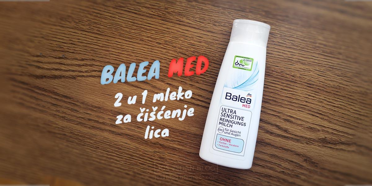 Balea MED 2 u 1 mleko za čišćenje lica recenzija i utisci.