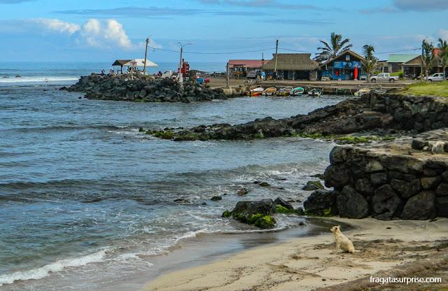 "Hanga Roa, ""capital"" da Ilha de Páscoa"