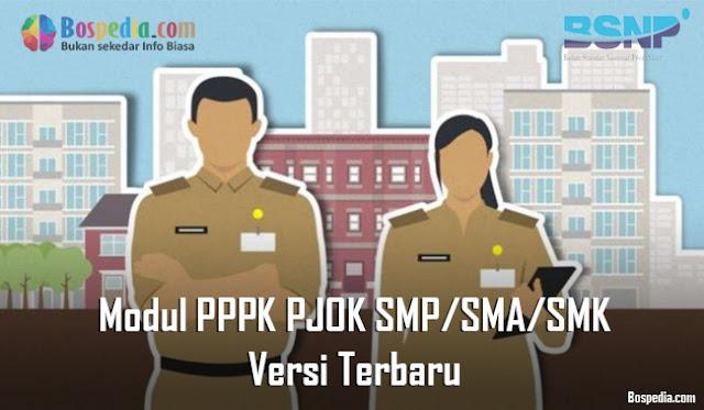 Modul PPPK PJOK SMP/SMA/SMK Versi Terbaru