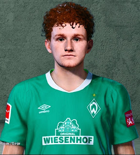 PES 2020 Faces Josh Sargent by Ben23384