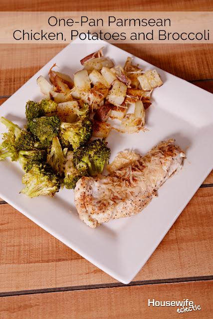 Chicken Broccoli Potato One Pan