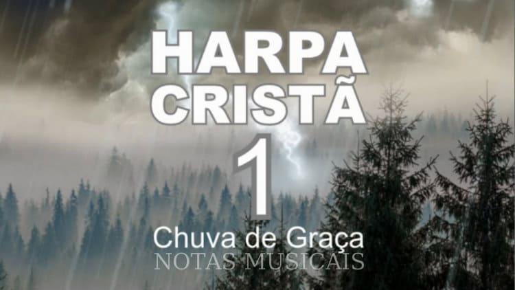 Chuva de Graça - Harpa Cristã 1 - Cifra melódica