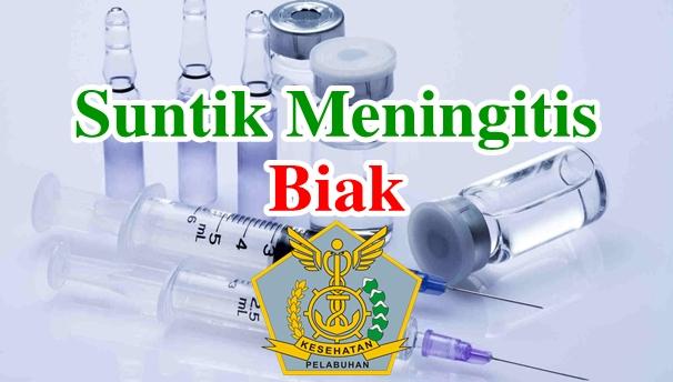 Alamat Tempat Suntik Vaksin Meningitis di Biak