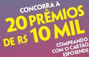 Promoção Cartão Esposende Calçados 2017 São João Dez Mil Reais