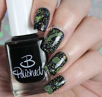 B Polished Spacey Stamping