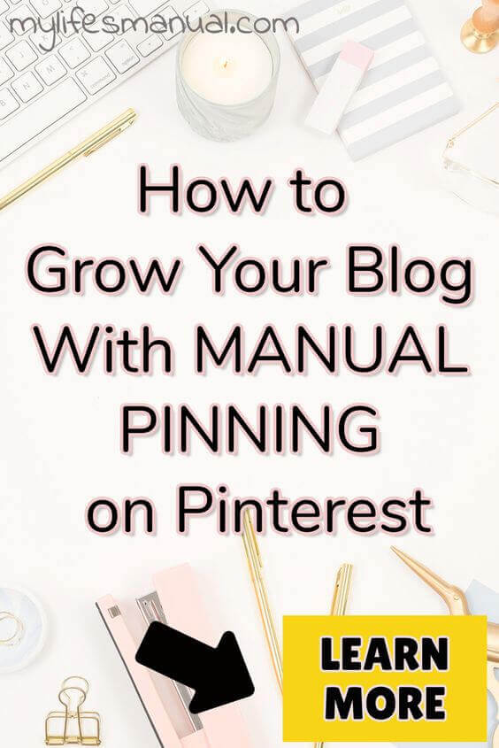 How To increase your page views with manual pinning. Pinteresting Strategies Review