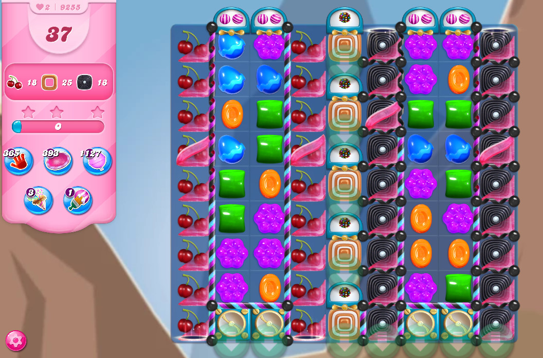 Candy Crush Saga level 9255