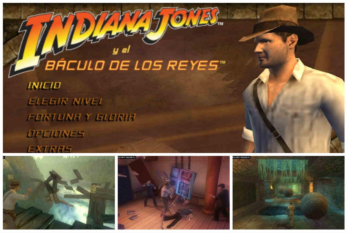 Indiana Jones y el Cetro de los Reyes Para PSP Español