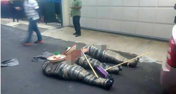 Pembunuhan Sadis ini terjadi di Kota Mexico Berita Terhangat Sadis ! Tiga Mayat Diletakan Di Tengah Jalan Kepalanya Terpisah, Tubuhnya Dibungkus Plastik