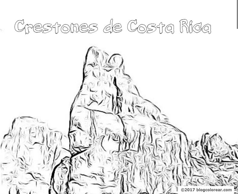 Dibujos Costa Rica Para Colorear Colorear Dibujos Infantiles