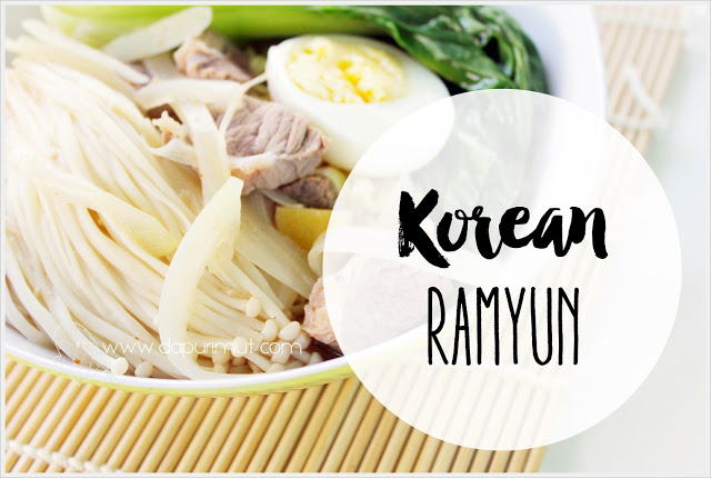 Resep membuat Korean Ramyun