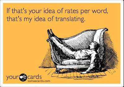 tarifas de traduccion