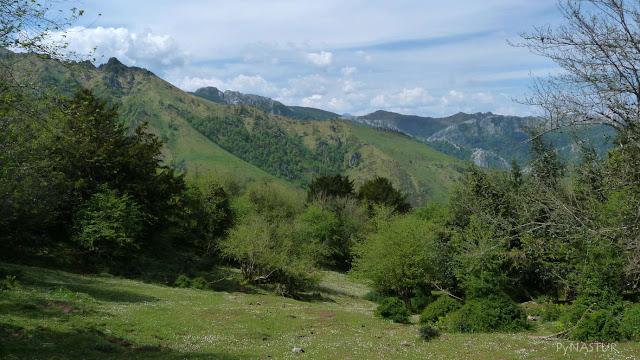 Parque Natural de Redes desde La Sierra de Las Aves