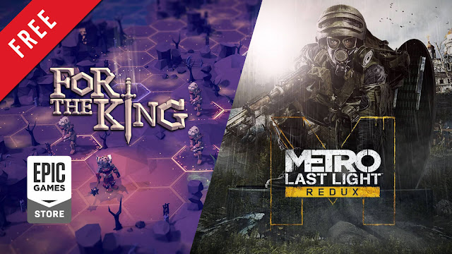 for the king metro last light redux free pc game epic games store turn-based strategy role-playing game first-person shooter survival horror ironoak games curve digital 4a games deep silver
