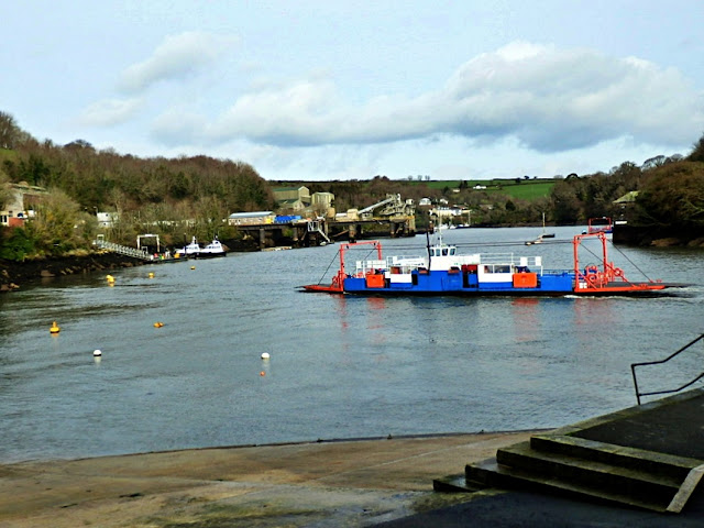 Bodinnick to Fowey Ferry, Cornwall