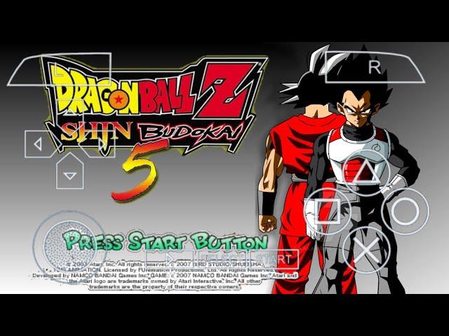 DBZ Shin Budokai 5 Mod Download
