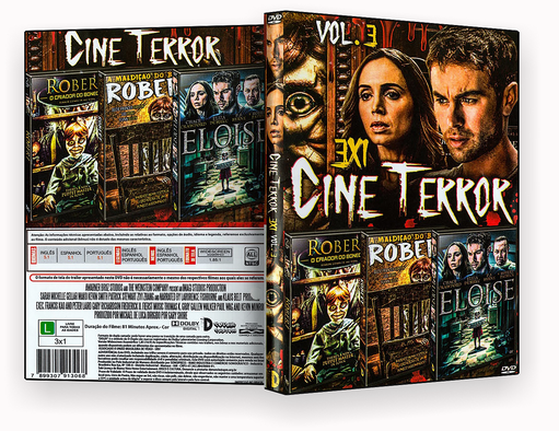 CAPA DVD – Cine Terror Vol.3 – ISO