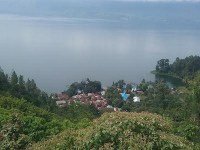 Danau Toba dilihat dari Huta Sibaganding Parapat kecamatan Sipangan Bolon kabupaten Simalungun. photo /DTC_tagor