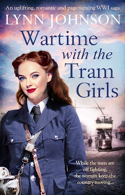 Wartime with the Tram Girls by Lynn Johnson book cover